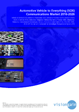 VGN565_Cover Automotive Vehicle to Everything (V2X) Communications Market 2016-2026.png